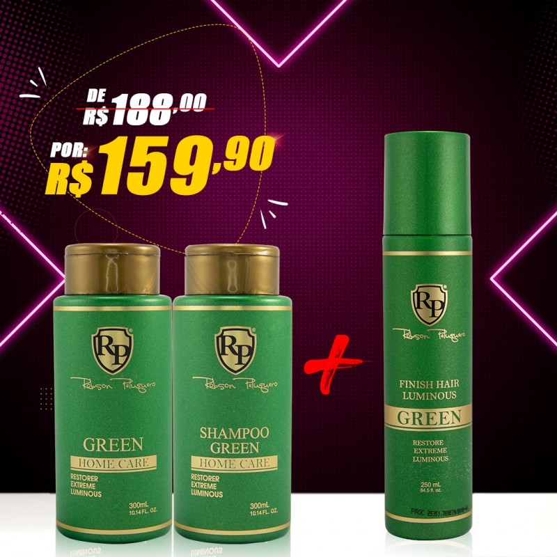 KIT HOME CARE GREEN